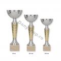 Cupe argintii sau aurii cu insertii cromate